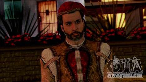 Ezio from Assassins Creed for GTA San Andreas third screenshot