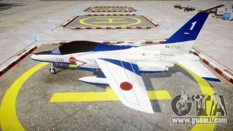Kawasaki T-4 for GTA 4 left view