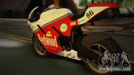 Bati RR 801 Redwood for GTA San Andreas left view