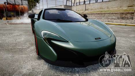 McLaren 650S Spider 2014 [EPM] Bridgestone v2 for GTA 4