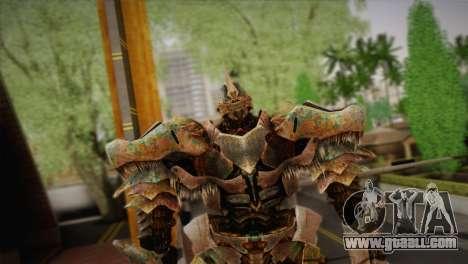 Grimlock v1 for GTA San Andreas third screenshot