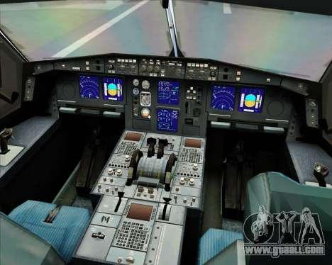 Airbus A330-300 Virgin Atlantic Airways for GTA San Andreas wheels