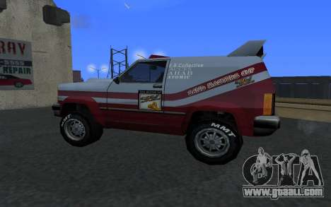 Updated Sandking for GTA San Andreas