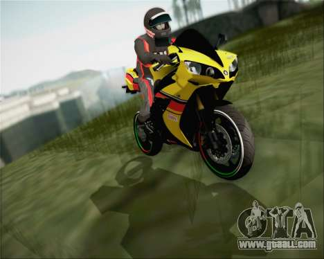 Yamaha R1 HBS Style for GTA San Andreas