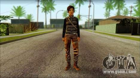 Tomb Raider Skin 1 2013 for GTA San Andreas