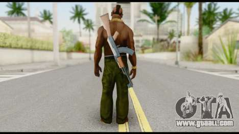 MR T Skin v7 for GTA San Andreas second screenshot