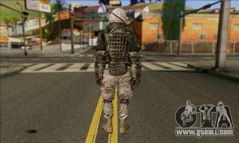 Task Force 141 (CoD: MW 2) Skin 3 for GTA San Andreas second screenshot