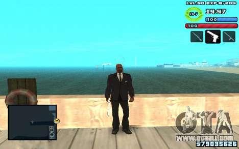 C-HUD by SampHack v10 for GTA San Andreas