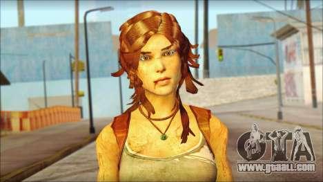 Tomb Raider Skin 7 2013 for GTA San Andreas third screenshot