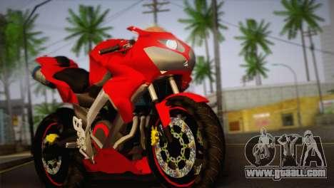 Yamaha New V-Ixion Lightning Concept Variasi for GTA San Andreas