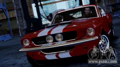 Shelby Cobra GT500 1967 for GTA 4