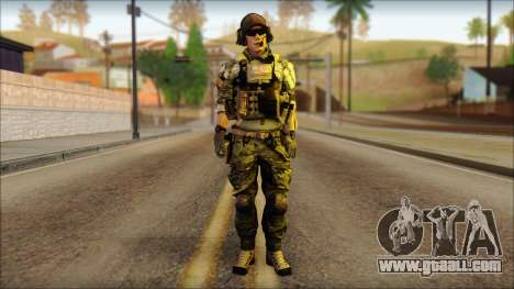 Engineer from BF4 for GTA San Andreas