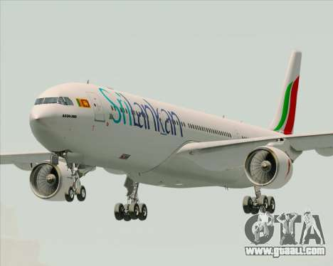 Airbus A330-300 SriLankan Airlines for GTA San Andreas