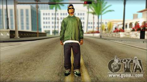 Eazy-E Green v2 for GTA San Andreas