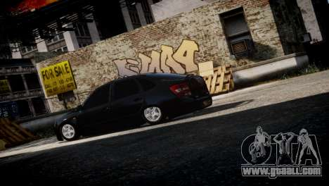 Lada Granta for GTA 4 right view