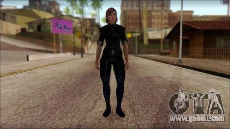 Mass Effect Anna Skin v5 for GTA San Andreas