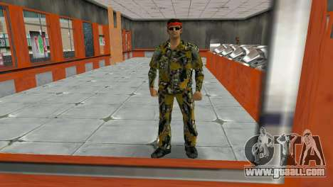 Camo Skin 16 for GTA Vice City