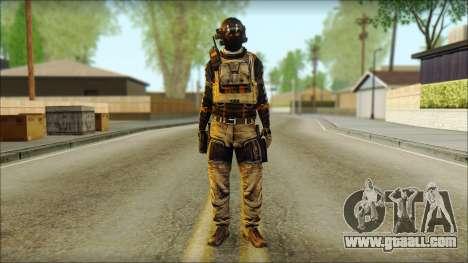 Mercenary (SC: Blacklist) v2 for GTA San Andreas