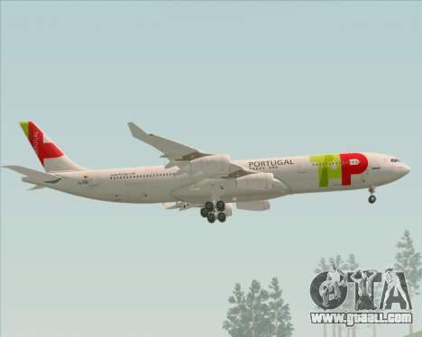 Airbus A340-312 TAP Portugal for GTA San Andreas engine