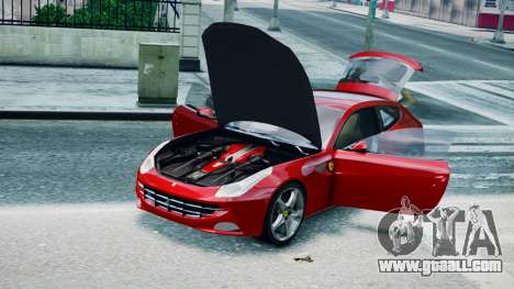 Ferrari FF for GTA 4 back left view