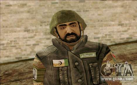 Soldiers MEK (Battlefield 2) Skin 1 for GTA San Andreas third screenshot