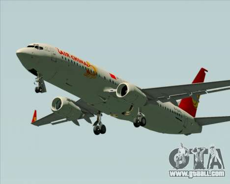 Boeing 737-89L Air China for GTA San Andreas side view