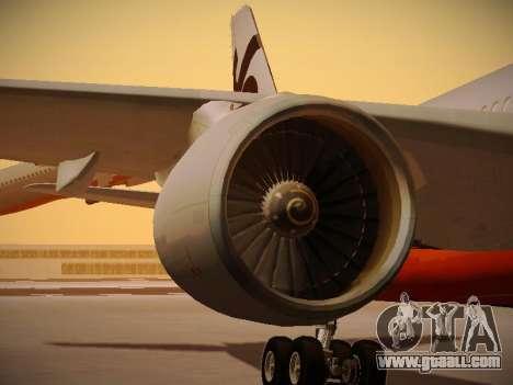 Airbus A330-200 Jetstar Airways for GTA San Andreas wheels