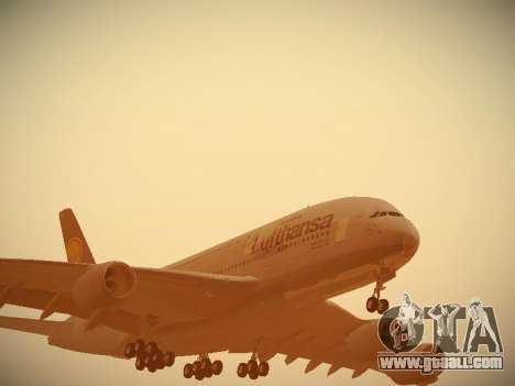 Airbus A380-800 Lufthansa for GTA San Andreas