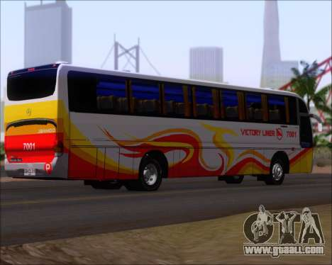 Marcopolo Victory Liner 7001 for GTA San Andreas right view