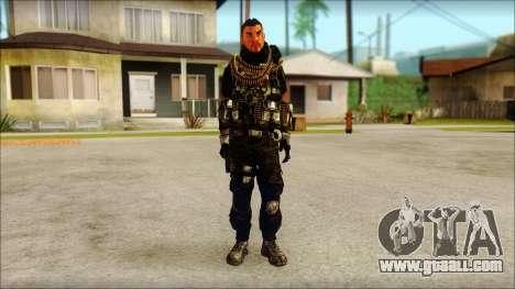 Australian Resurrection Skin from COD 5 for GTA San Andreas
