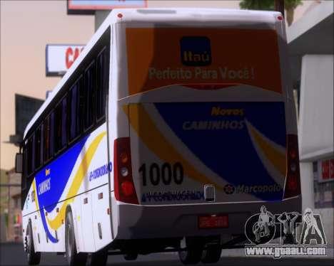 Marcopolo Ideale 770 - Volksbus 17-230 EOD for GTA San Andreas wheels