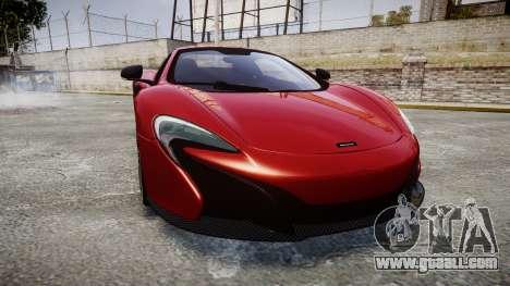 McLaren 650S Spider 2014 [EPM] Michelin v2 for GTA 4