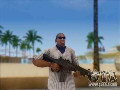 Israeli carbine ACE 21 for GTA San Andreas eleventh screenshot