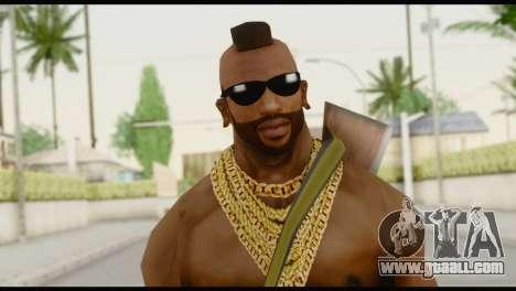 MR T Skin v7 for GTA San Andreas third screenshot