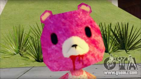 Gloomy the Foxy Bear Ped Skin for GTA San Andreas third screenshot