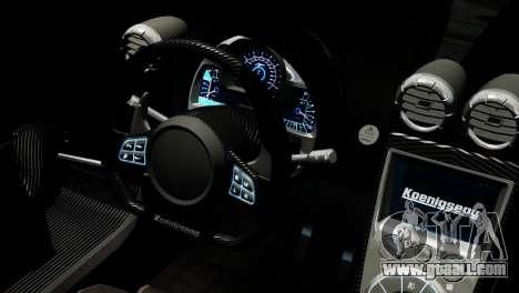 Koenigsegg Agera R 2013 PJ4 for GTA 4 right view