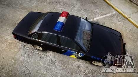 Vapid Police Cruiser LSPD Generation [ELS] for GTA 4