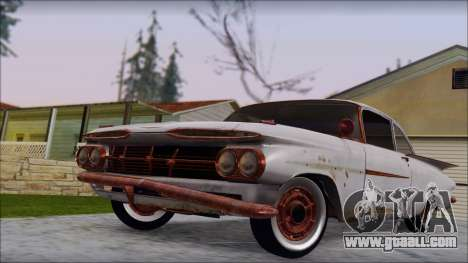 Chevrolet Biscayne 1959 Ratlook for GTA San Andreas right view
