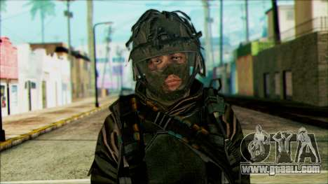 Soldiers airborne (CoD: MW2) v4 for GTA San Andreas third screenshot