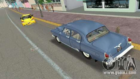 GAZ-21R Volga 1965 for GTA Vice City back view
