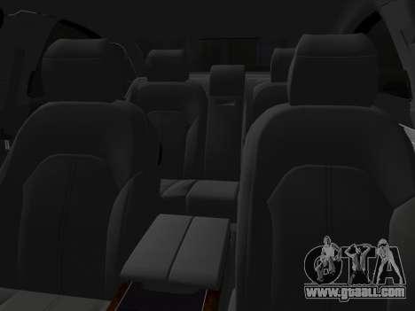 Audi A8 2010 W12 Rim1 for GTA Vice City side view