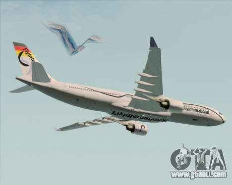 Airbus A330-300 Fly International for GTA San Andreas engine