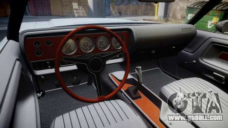 Dodge Challenger 1971 v2.2 PJ6 for GTA 4 back view