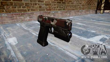 Pistol Glock 20 are bloodshot for GTA 4