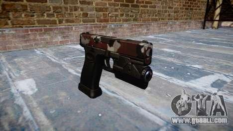 Pistol Glock 20 are bloodshot for GTA 4