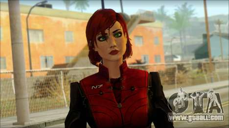 Mass Effect Anna Skin v3 for GTA San Andreas third screenshot
