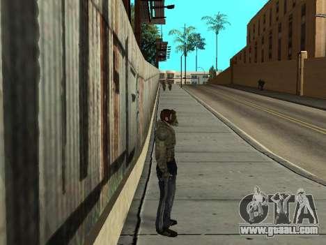 Pants bandit from Stalker for GTA San Andreas second screenshot