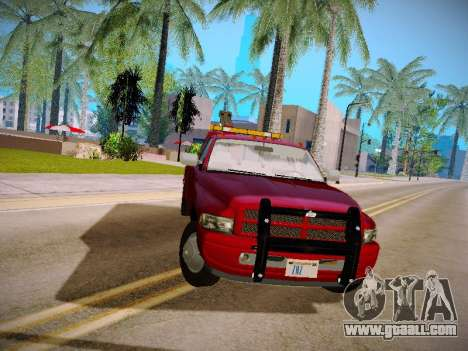 Dodge Ram Tow-Truck for GTA San Andreas