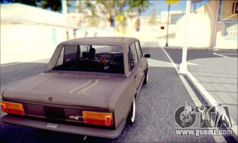 Fiat 125P Shark for GTA San Andreas right view