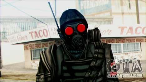 Manhunt Ped 1 for GTA San Andreas third screenshot